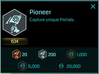 Ingress-Pioneer