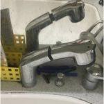 洗面台のシャワー混合栓の取り替え